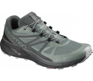 Salomon - Sense Ride GoreTex Invisible Fit Herren Laufschuh (grau)