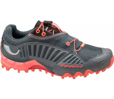 Dynafit - Feline SL women's mountain running shoes (grey/orange)