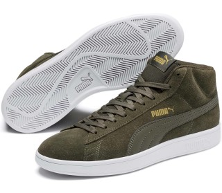 Smash v2 Mid Suede Hommes Baskets