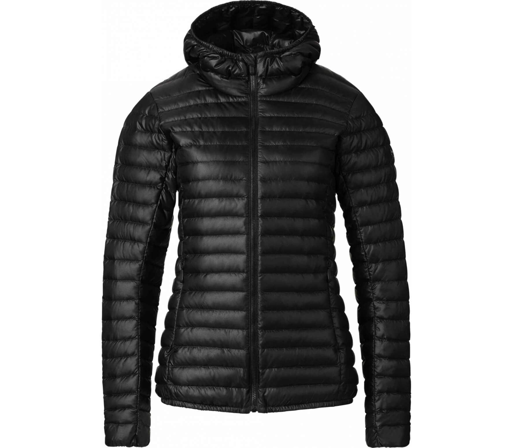 a5671ce7b92 Kjus - Cypress Hooded women s down jacket (black) - buy it at the ...