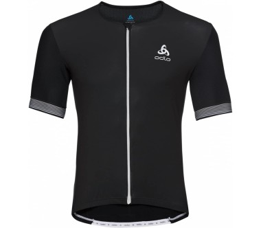 Odlo Ceramicool Full-Zip Shortsleeve Men black