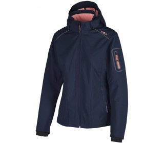 CMP Zip Hood Women Softshell Jacket
