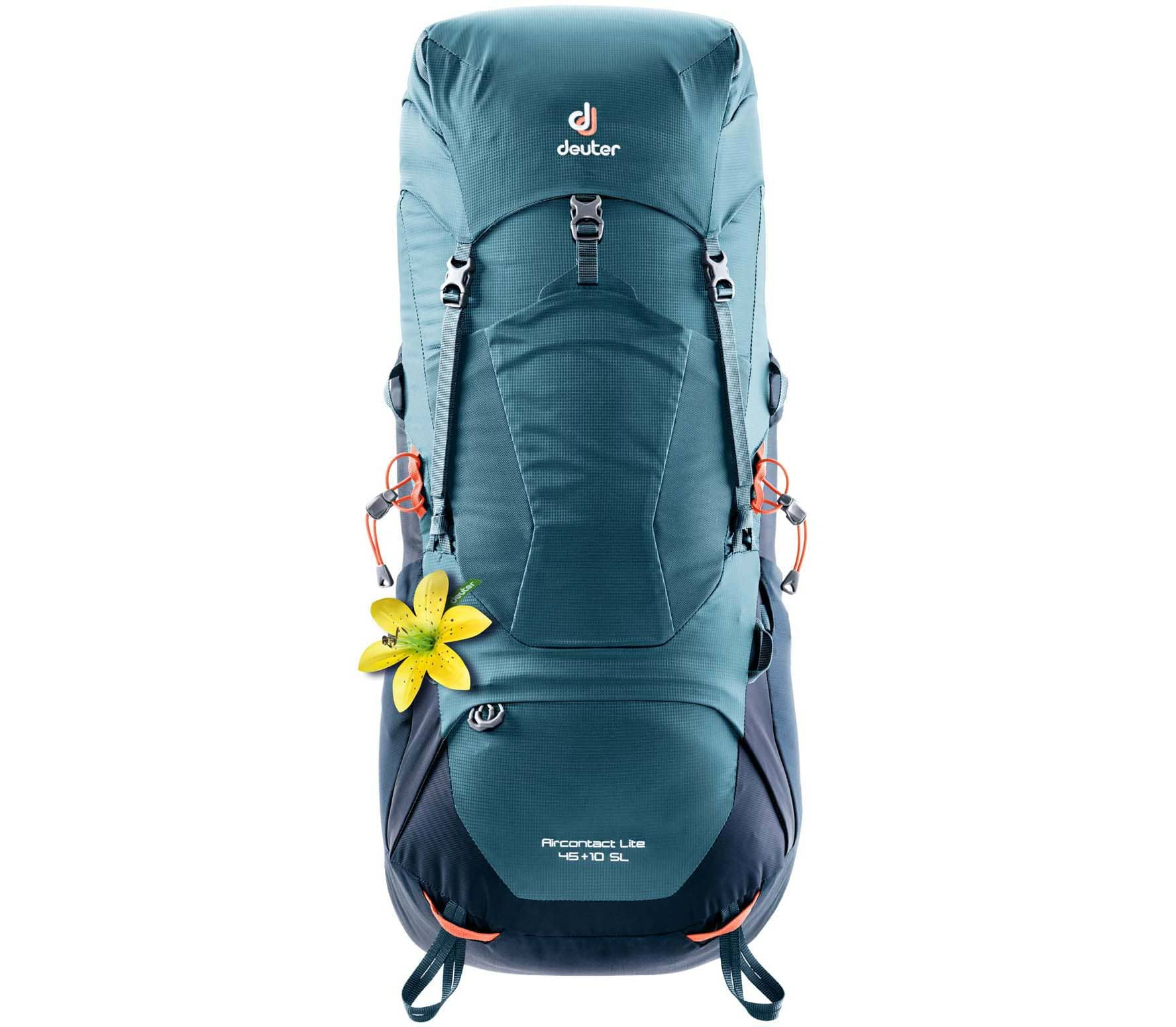 Deuter - Aircontact Lite 45 + 10 SL women's trekking backpack (blue)