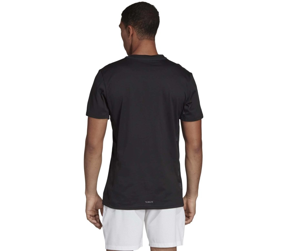 adidas das Escouade men's tennis top Herren schwarz