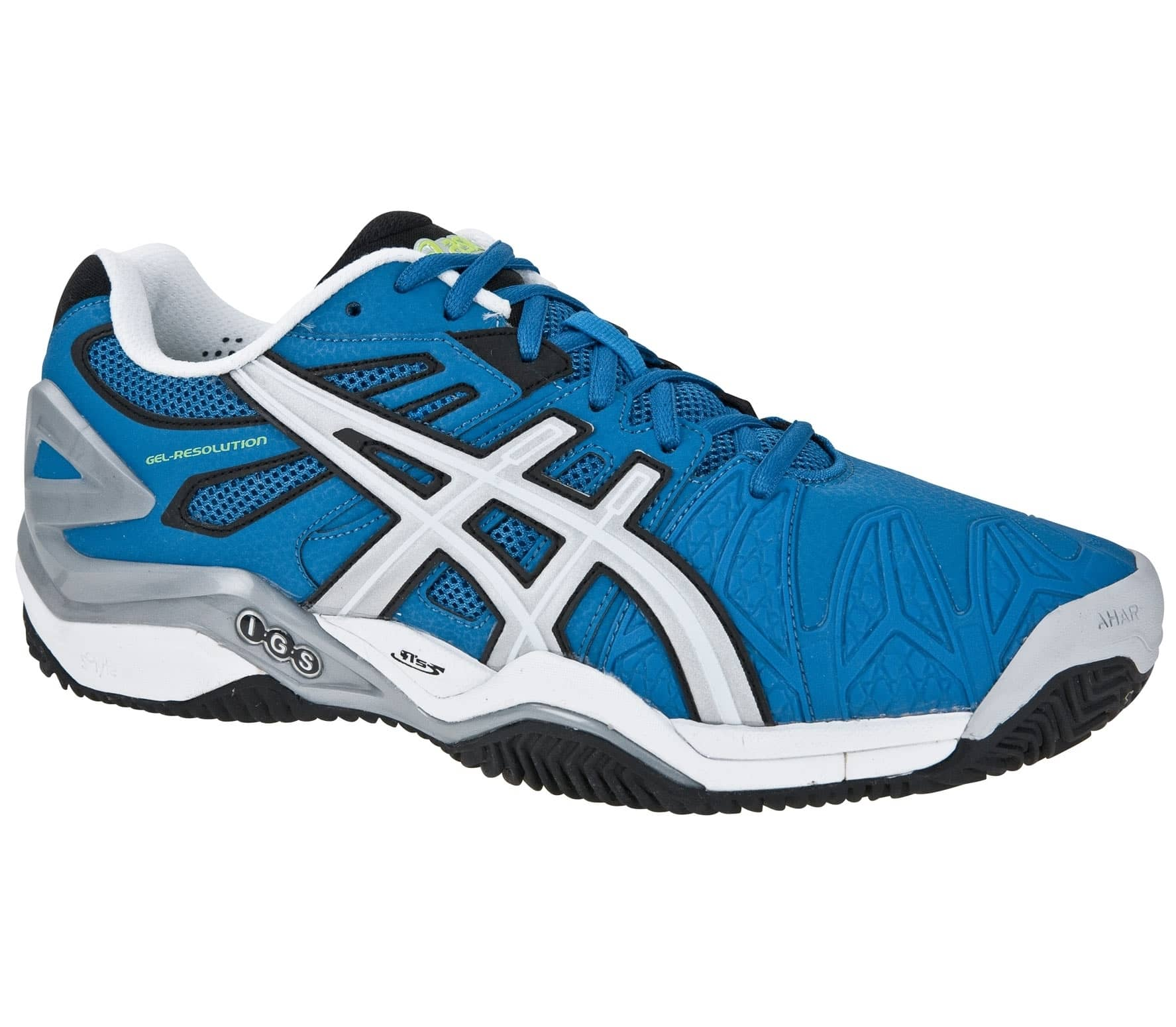 Asics Gel Resolution 5 Clay Herren Tennisschuh (wei