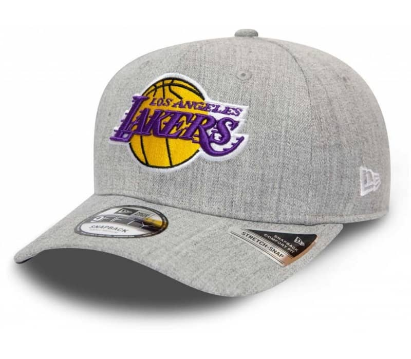 Heather Base 9Fifty Stretch Snap Los Angeles Lakers Herr Keps