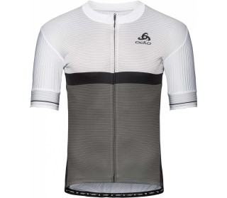 ODLO Stand-up Collar s/s Full Zip Zeroweight Men Cycling Jersey