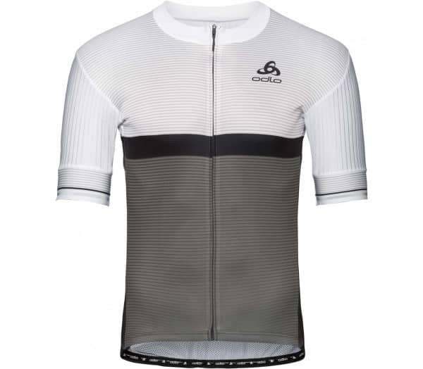 ODLO Stand-up Collar s/s Full Zip Zeroweight Hommes Maillot vélo - 1