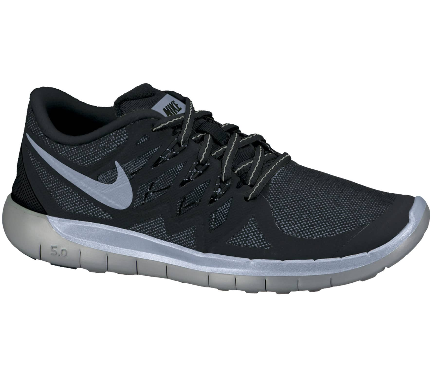 aa1fec98c84e Nike - Free 5.0 Flash Children running shoes (black silver) - buy it ...