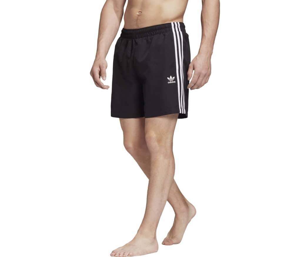 3-Streifen Swim Herren Shorts