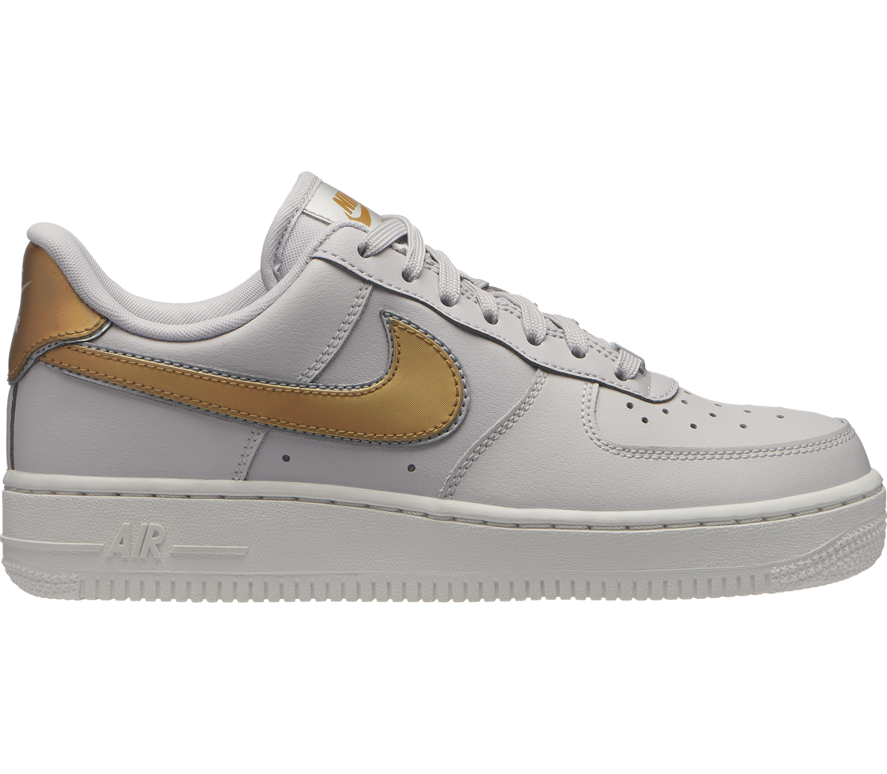 Air Force 1 '07 Metallic Damen Sneaker (weiß)