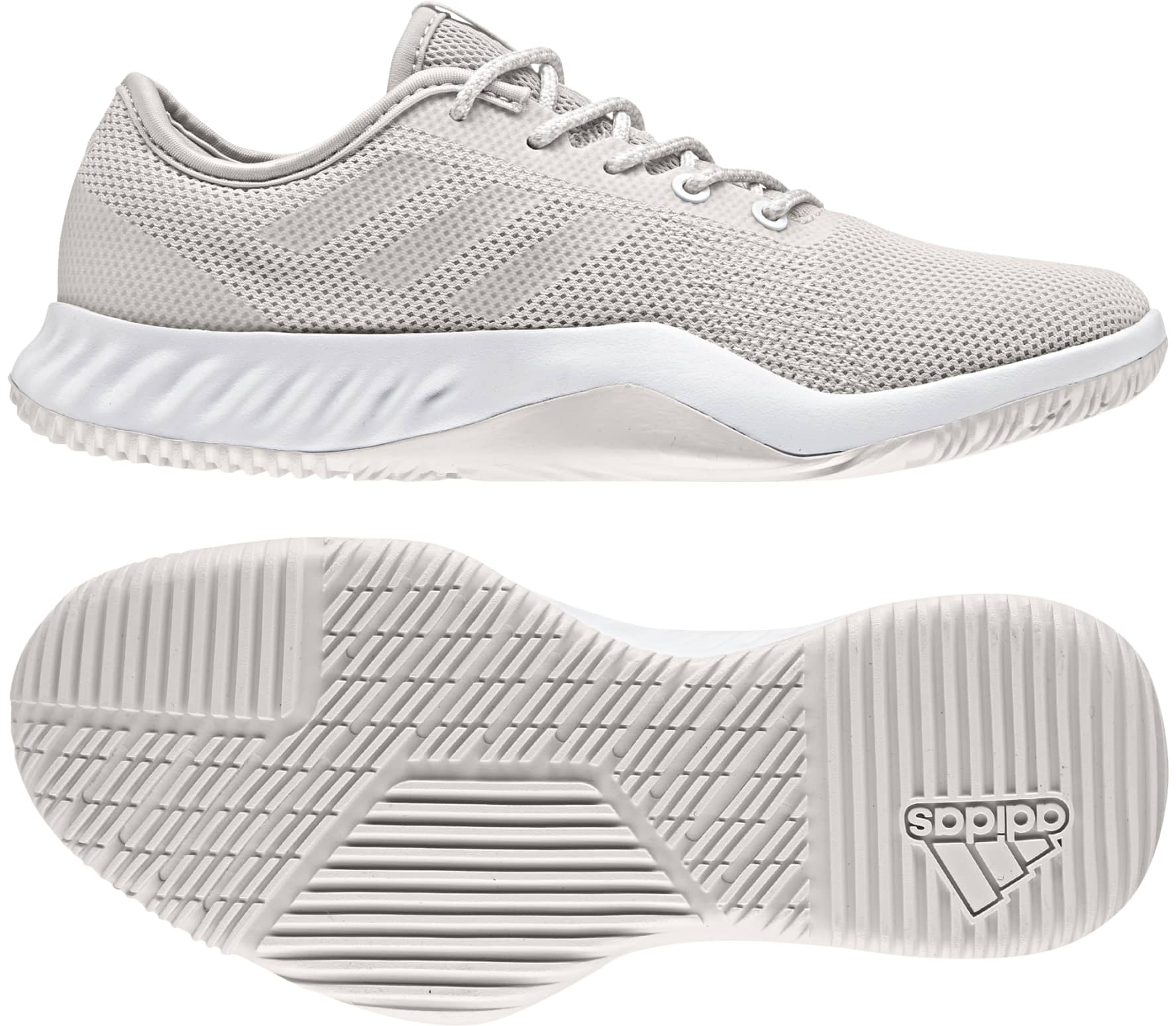 wholesale dealer dd7c2 05d65 Adidas - CrazyTrain LT women s training shoes (grey white)