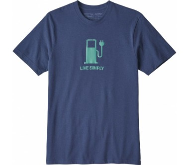 Patagonia - Live Simply Power Responsibili men's top (blue)