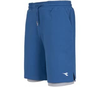 Diadora Bermuda Reversible Mesh Men Tennis Shorts
