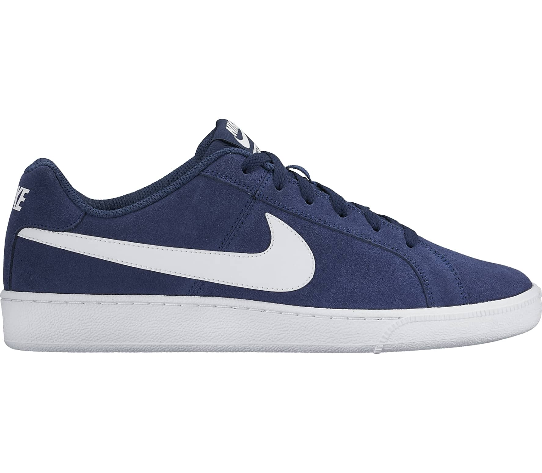 online store 3b7f2 8f50f Nike - Court Royale Suede men s sneaker (blue white)