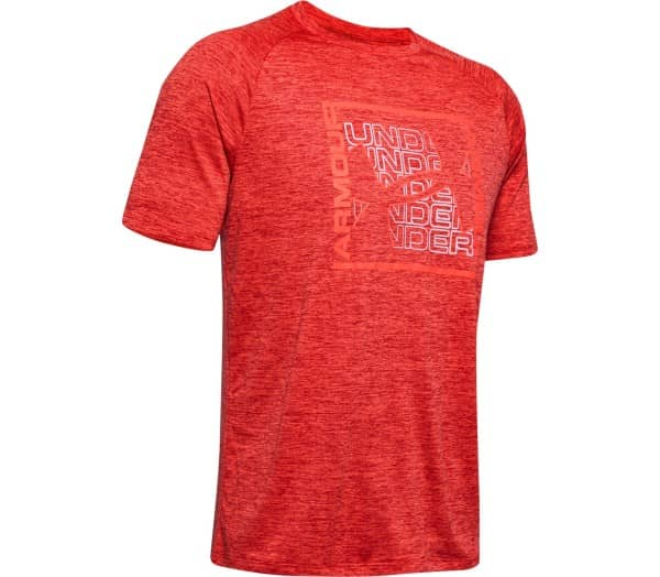 UNDER ARMOUR Tech Graphic SS Men Training Top - 1
