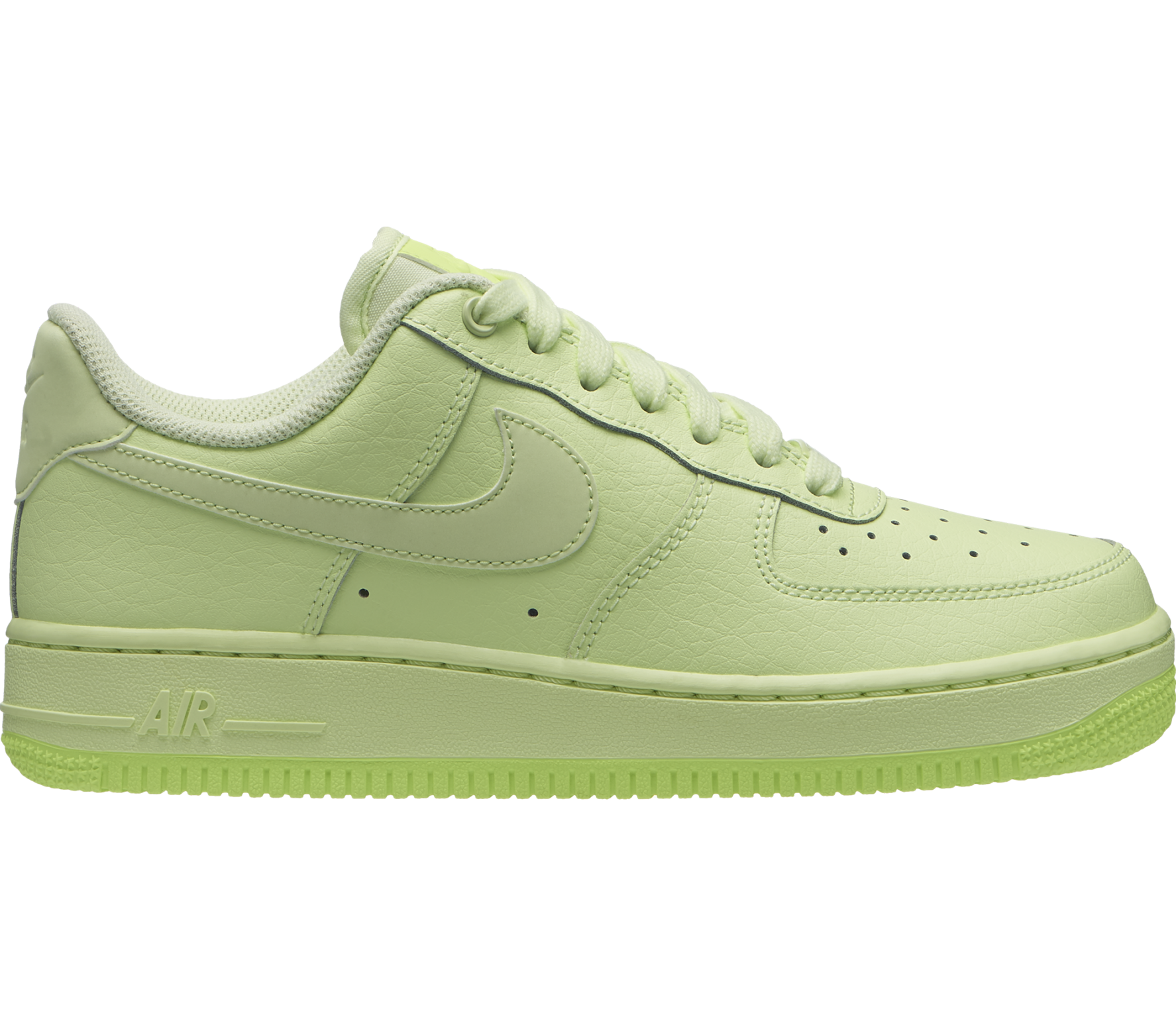 nike air force 1 dames green