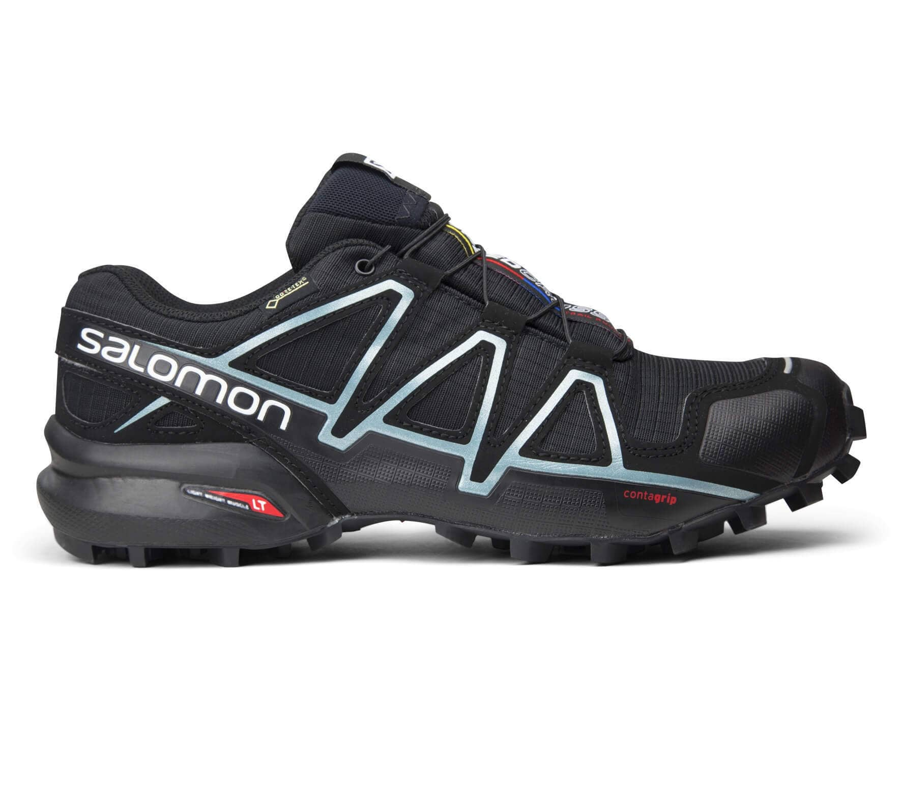 94b5b5f849c6 Salomon - Speedcross 4 GTX women s running shoes (black silver ...