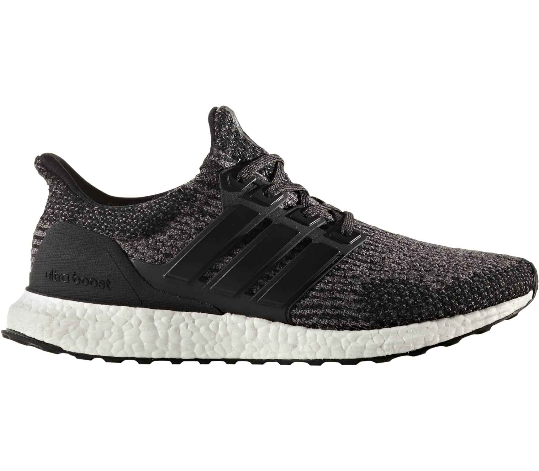 Adidas - Ultra Boost men's running shoes (black/white