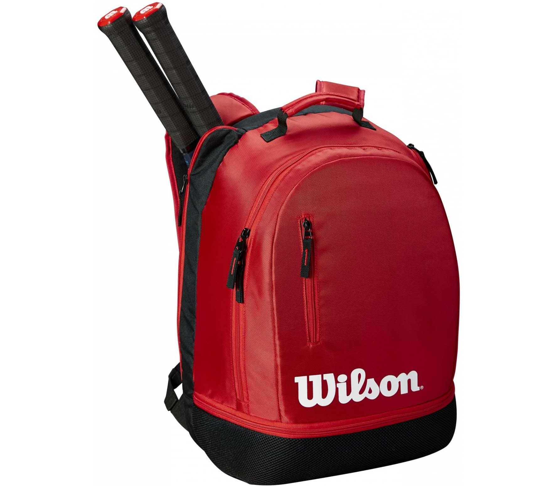 0d67fdbff4 Wilson - Team backpack tennis bag (black red) - buy it at the Keller ...