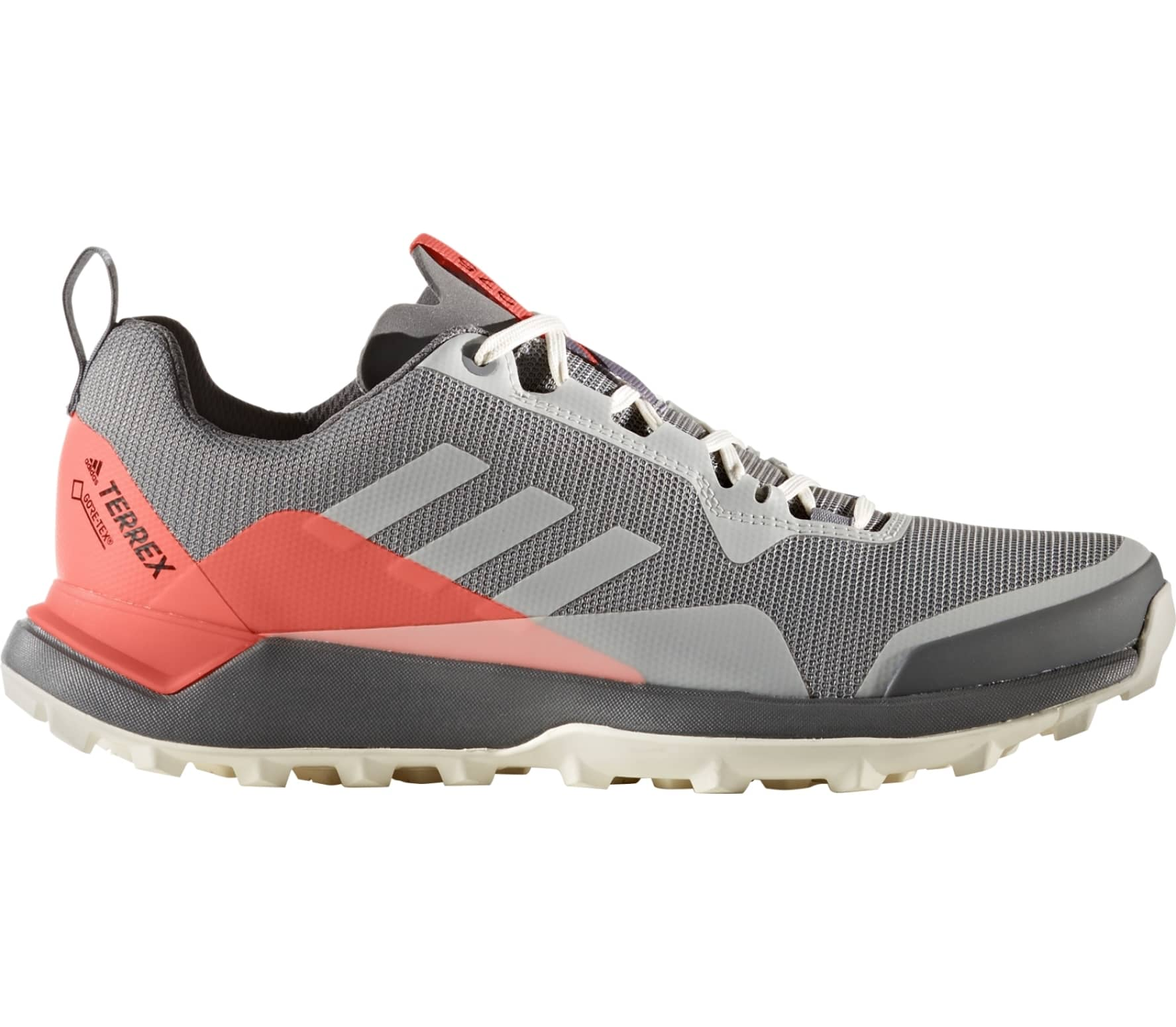 low priced 9e9eb 44003 Adidas - Terrex CMTK GTX women s trail running shoes (grey red)