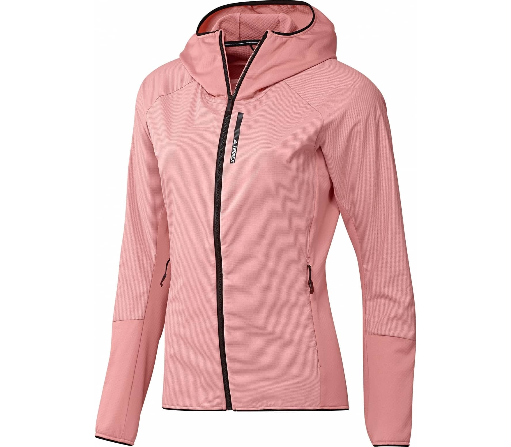 Fleecejacke rosa damen