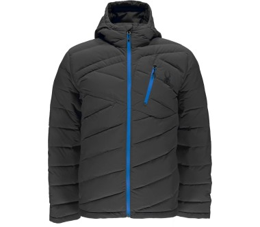 Spyder Syrround Hoody Down Men silver