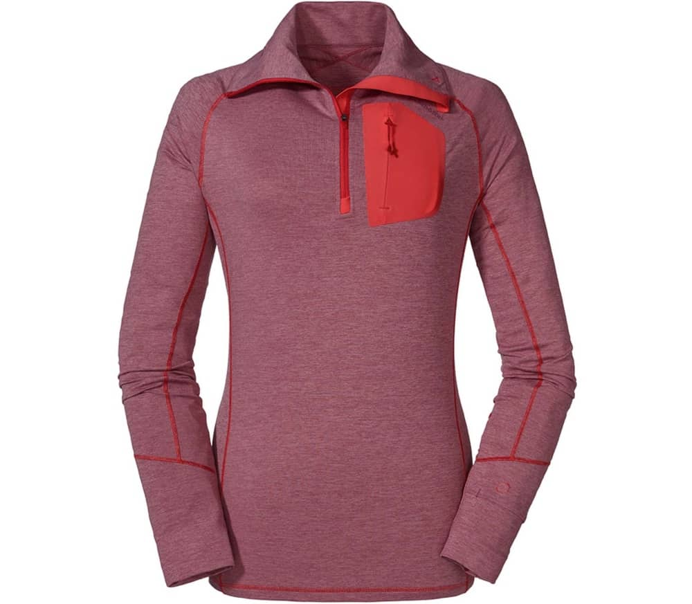 SCHÖFFEL Seekofel Women Midlayer (Red Moscato) 73,90 €