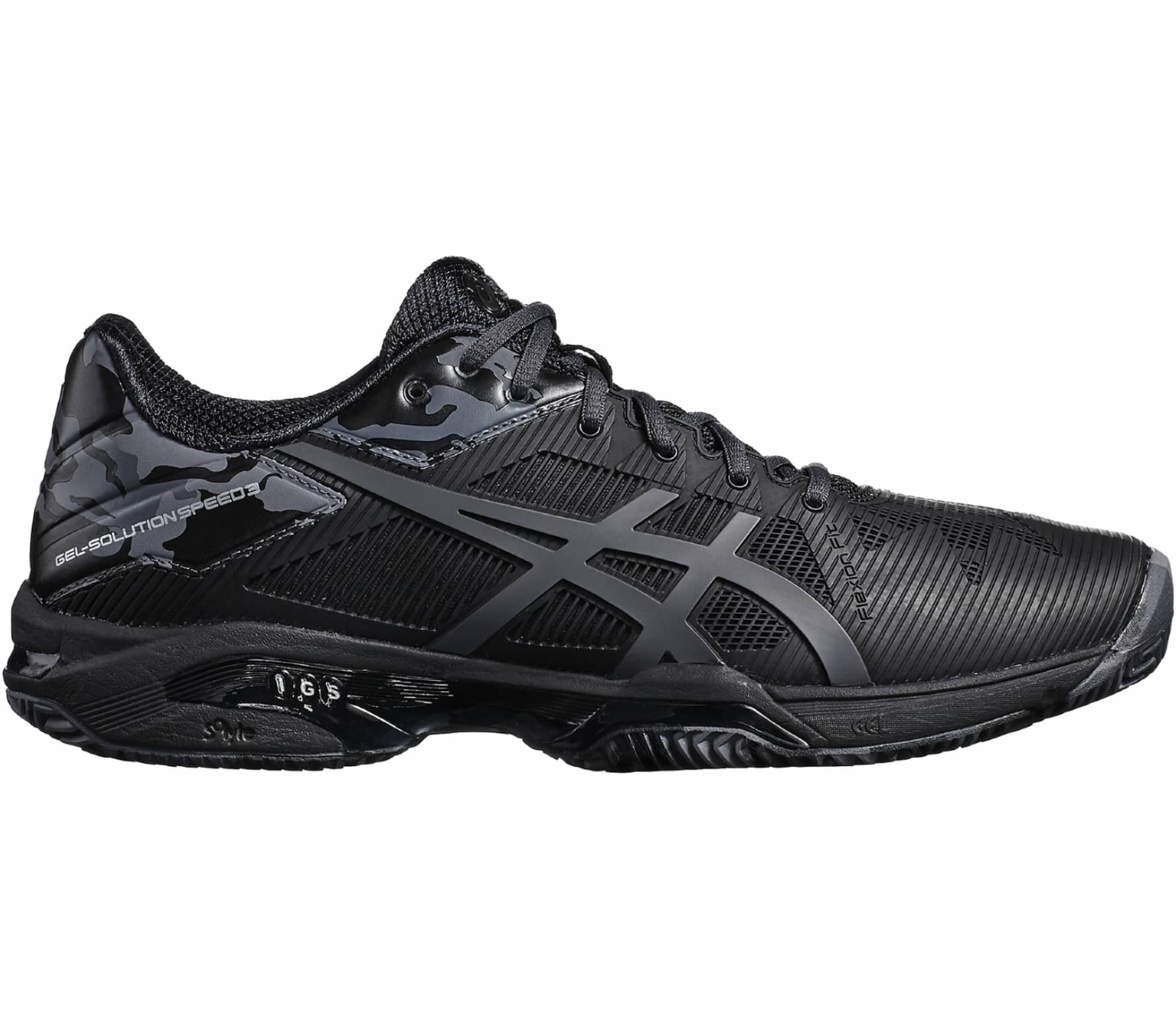 24cfec07a95 ASICS - Gel-Solution Speed 3 Clay L.E. men s tennis shoes (black ...
