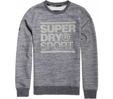 4661af6cb695 Superdry - Gym Tech Ziphood Herren Trainingshoodie (grau) im Online ...