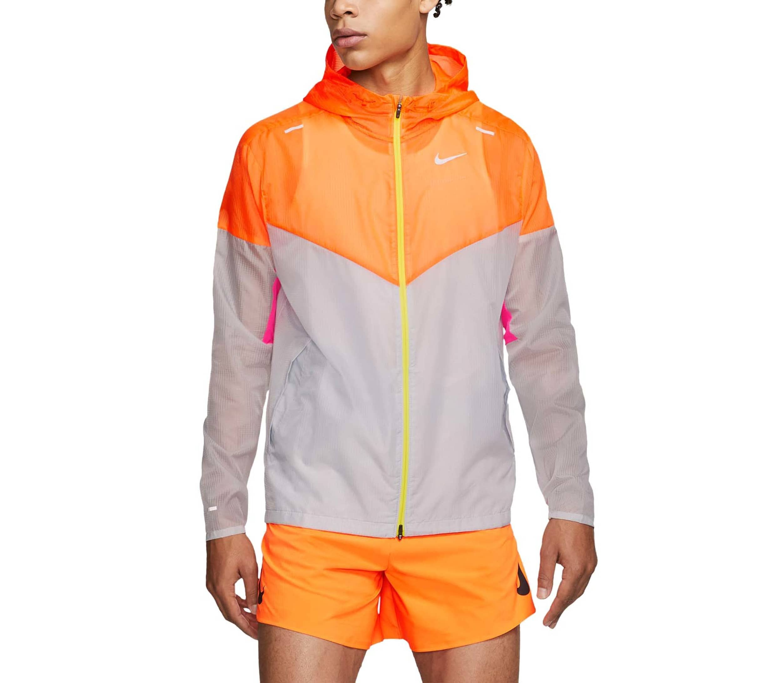 Nike Windrunner Herren Laufjacke (orange weiß) 89,90 €