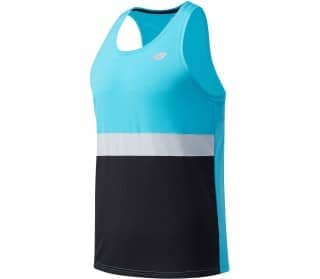 New Balance Accelerate Herren Running-Tank-Top
