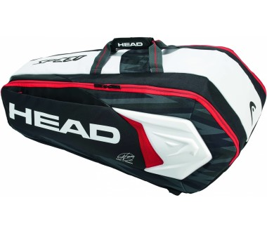 Head - Djokovic 9R Supercombi tennistas (zwart/wit)