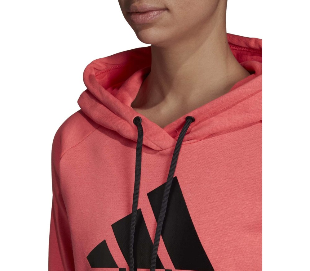 adidas - Women's Must Haves Badge of Sport Dam Luvtröja (rosa)