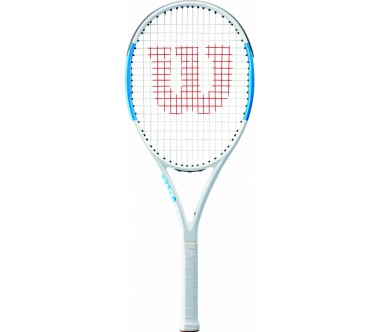 Wilson - Ultra Team 100 (strung) tennis racket (blue)