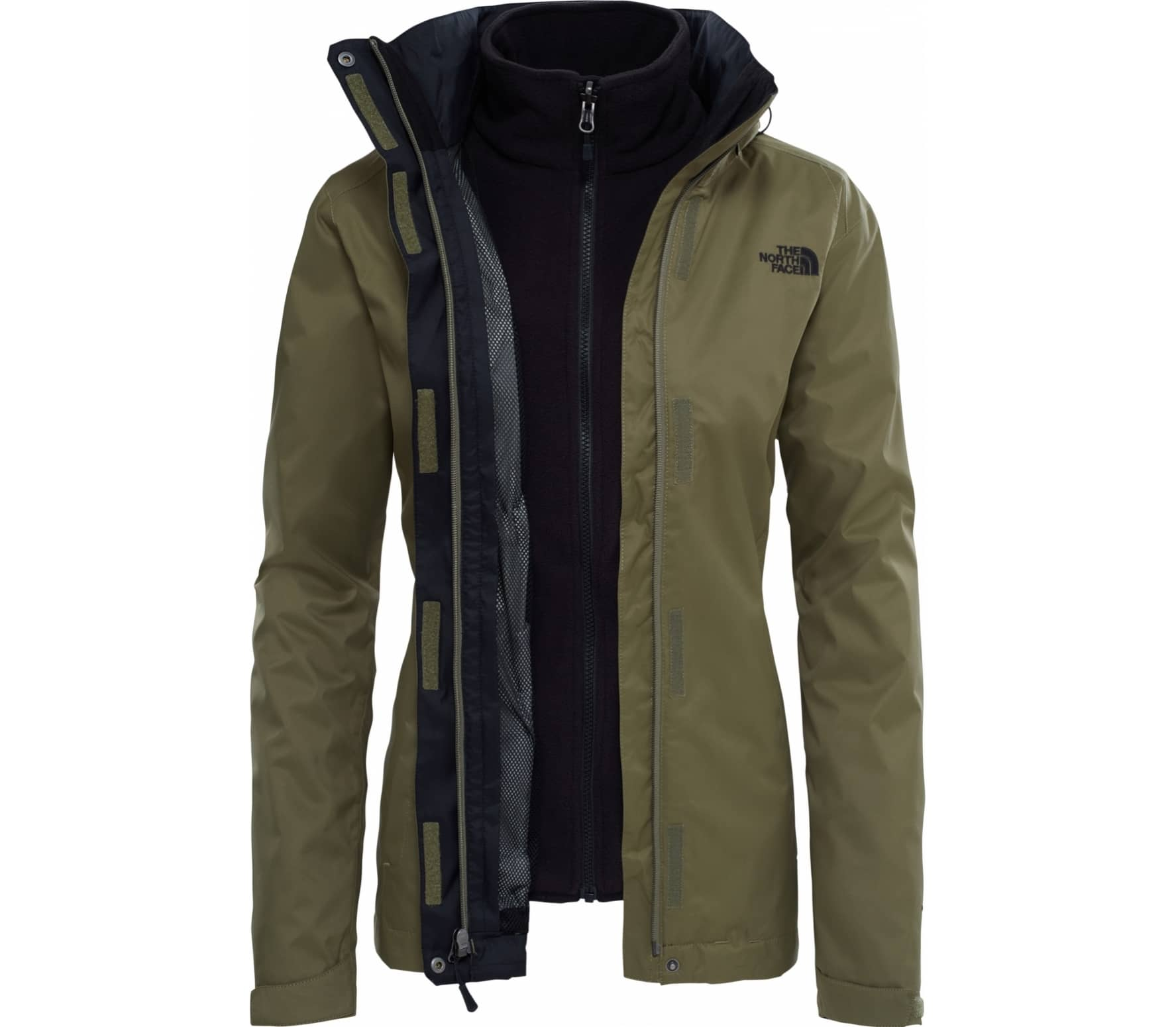 online store 1f30a f0cd3 The North Face Evolve II Triclimate® Damen braun
