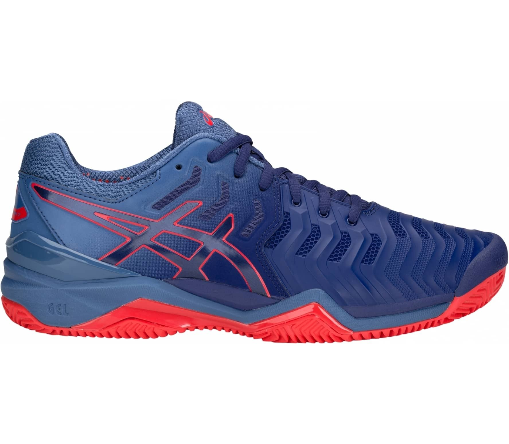 da715e7147d ASICS - Gel-Resolution 7 Clay Uomo Scarpa da tennis (blu) compra ...
