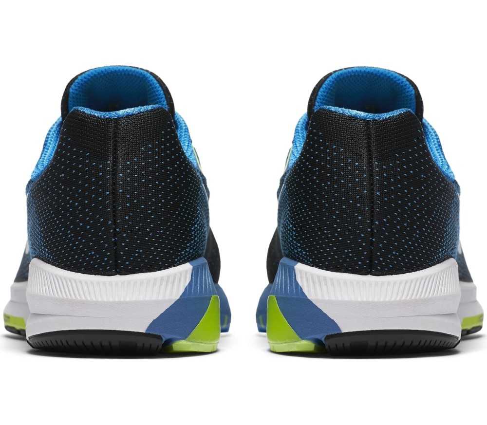 Nike - Air Zoom Structure 20 Wide men s running shoes (black blue ... bb5b2379c1