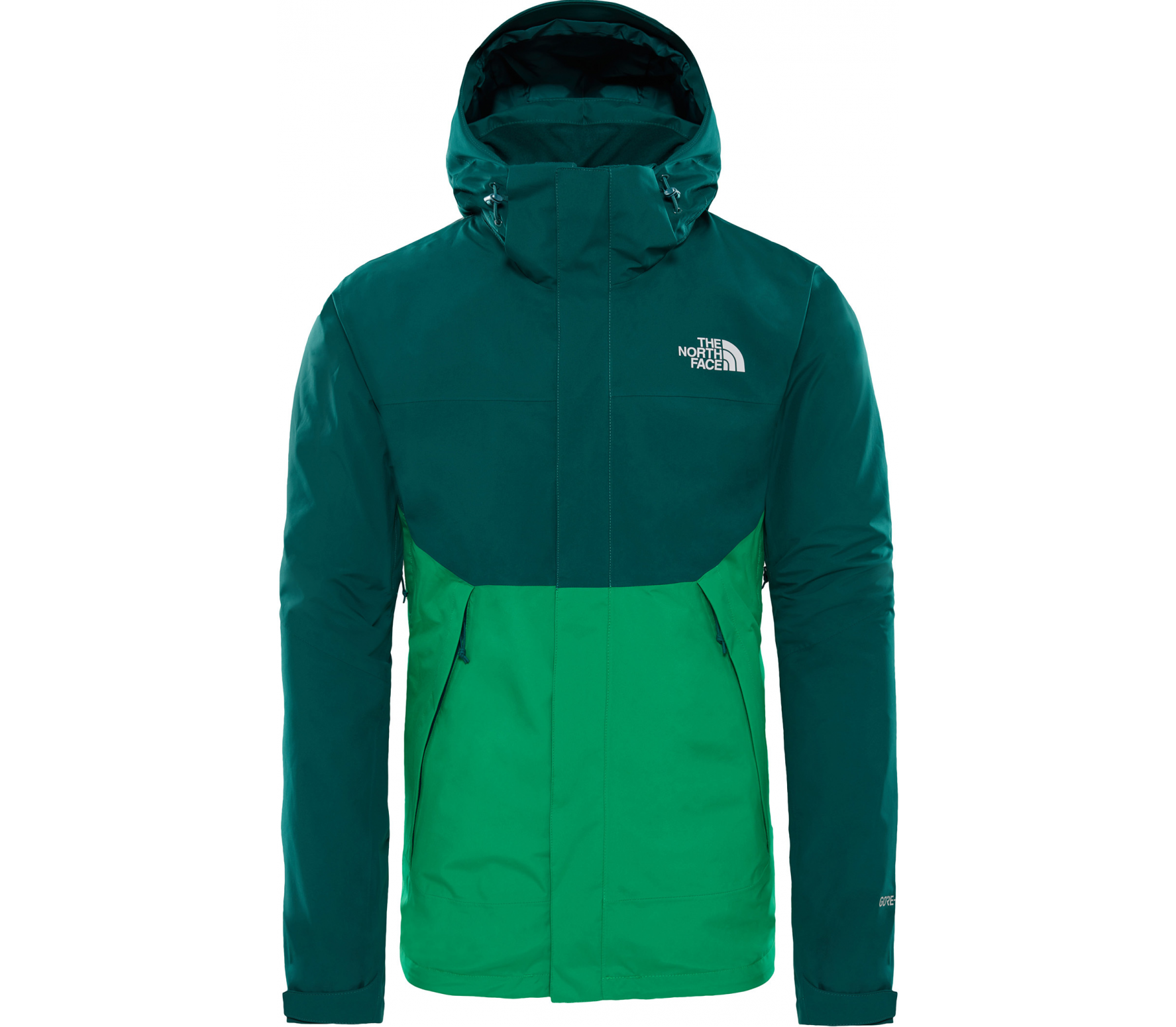 fd9fbfcd0 The North Face - Mountain Light II men's outdoor jacket (green)