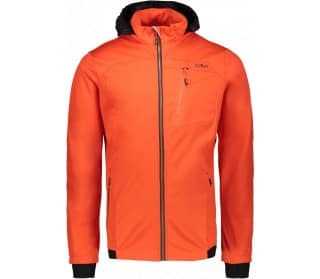 Zip Hood Heren Softshell Jas