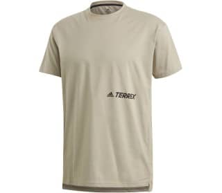 adidas TERREX Outdoor Primeblue Logo Men T-Shirt