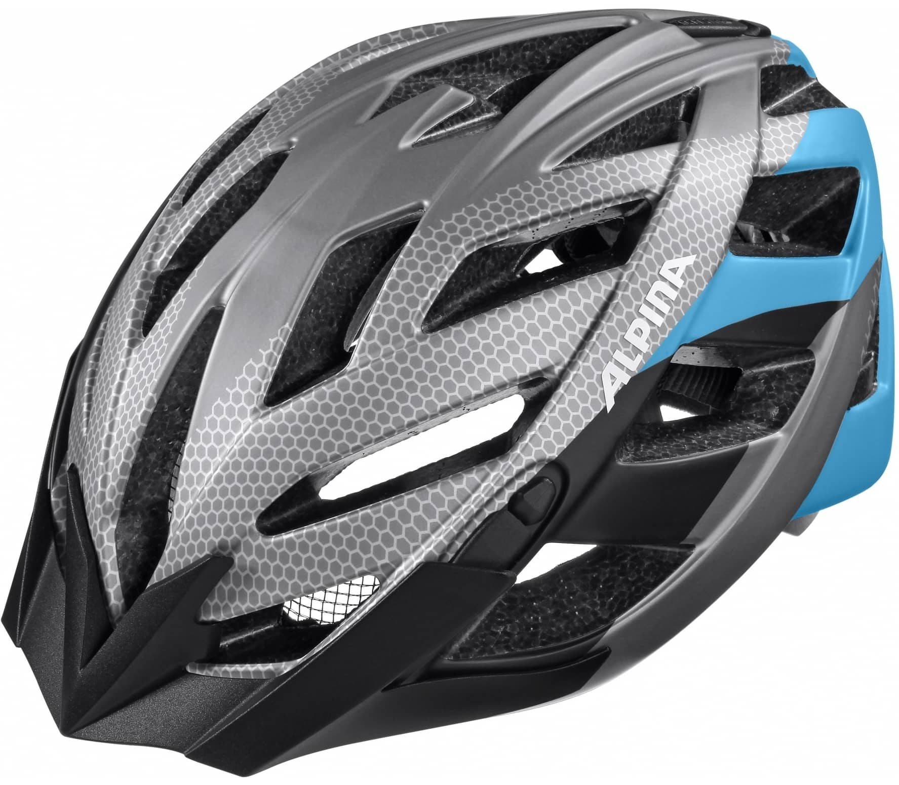 alpina panoma l e unisex bike helm grau blau im online shop von keller sports kaufen. Black Bedroom Furniture Sets. Home Design Ideas