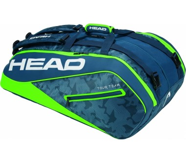 Head - Tour Team 12R Monstercombi tennis bag (green/blue)