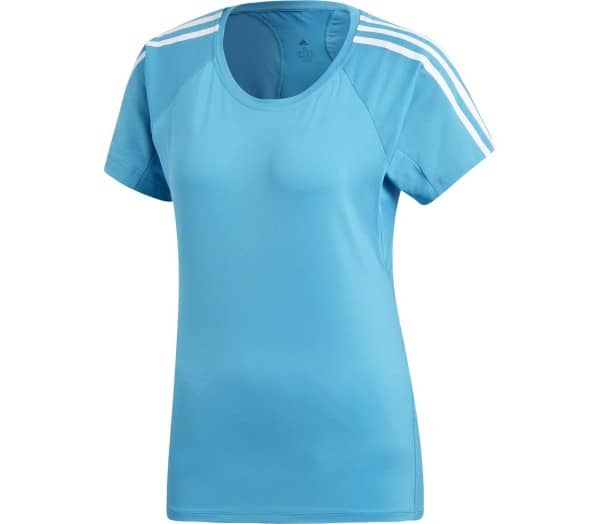 ADIDAS Training 3-Stripe Damen Trainingsshirt - 1
