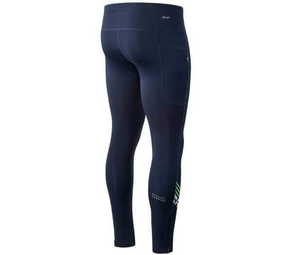NEW BALANCE Printed Impact Men Running Tights - 1