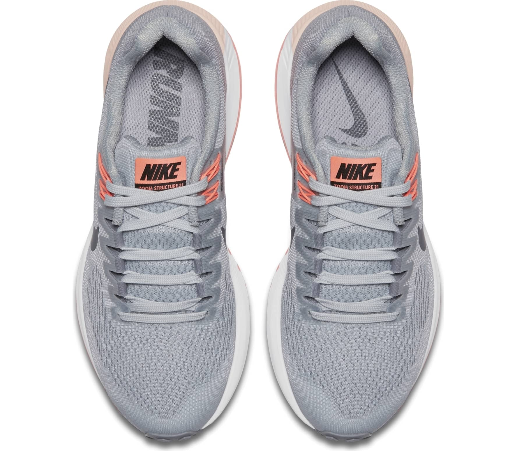 innovative design 94e5b 04d47 Nike - Air Zoom Structure 21 womens running shoes (grey)
