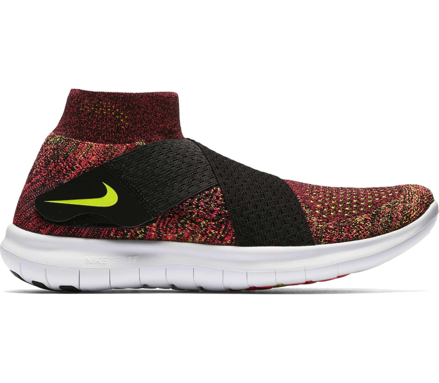 low priced 9b087 fb63e Nike - Free RN Motion Flyknit 2 zapatillas de running para mujer (rojo/negro