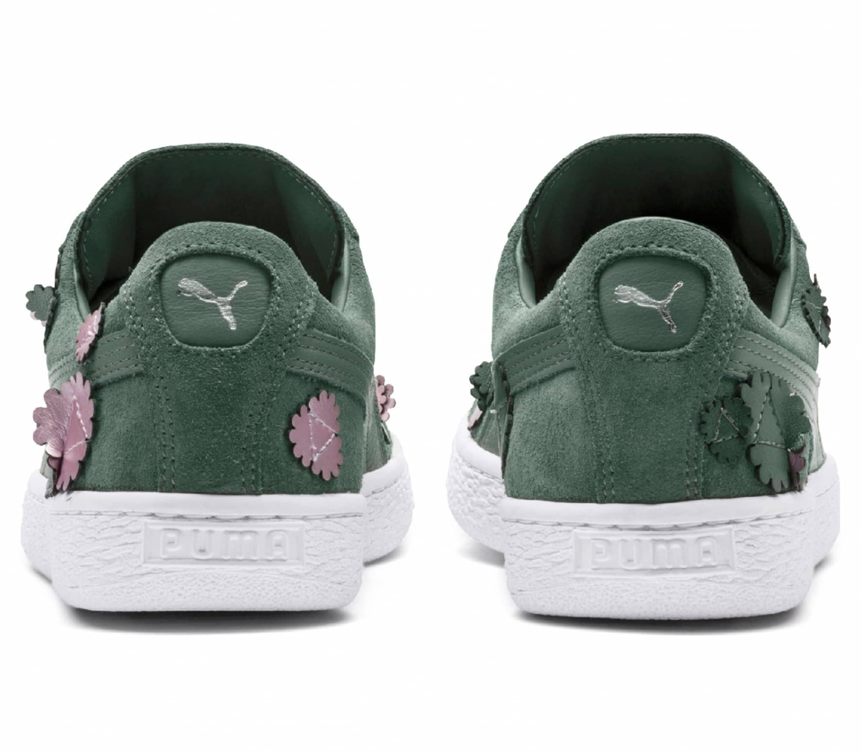 084db98603d1 Puma Suede Classic Aut Bloom women s trainers (olive green) online ...