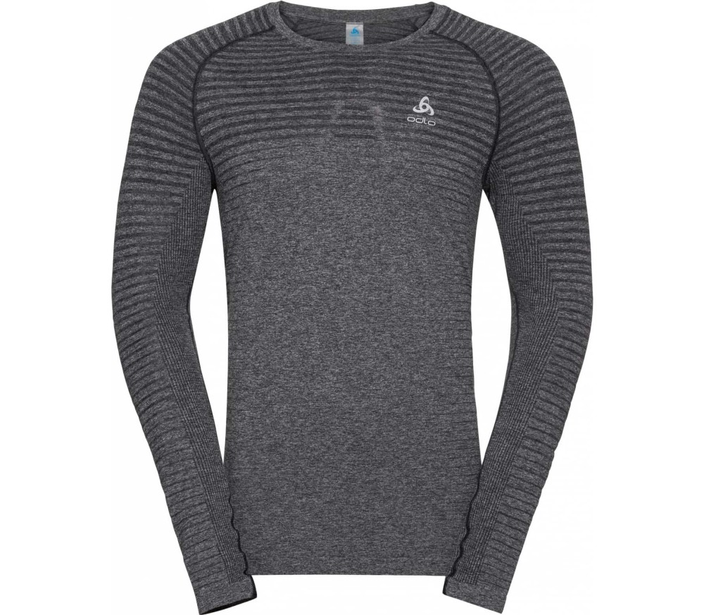 Odlo BL Crew Neck Seamless Element Herr silver