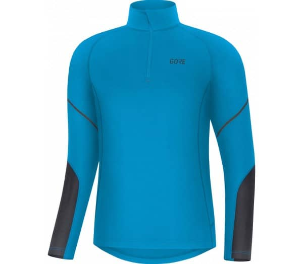 GORE® WEAR M Mid Zip Men Running Long Sleeve - 1